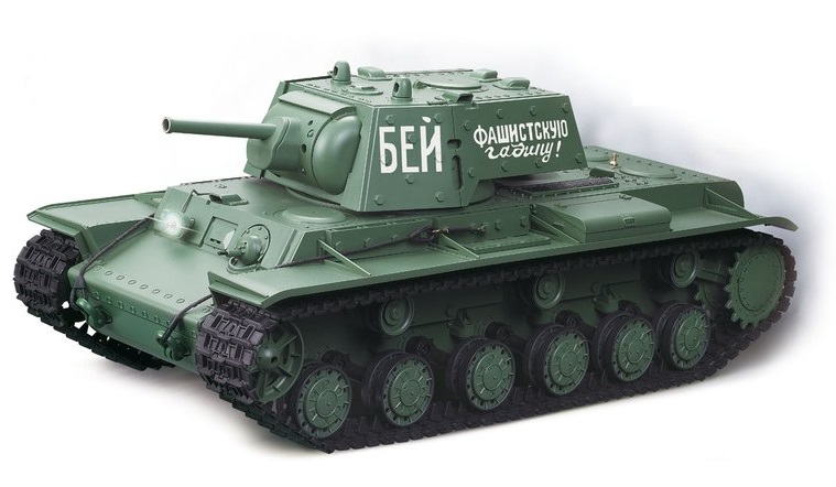 Tanc radiocomandat 1/16 RC KV-1 BB Airsoft Torro