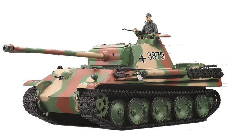 Tanc radiocomandat 1/16 RC Panther Type. G BB Airsoft Torro