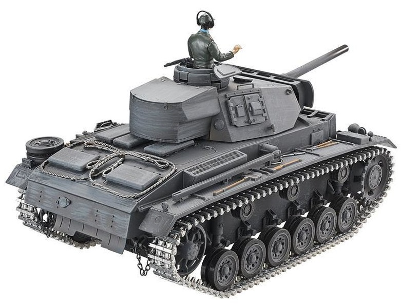 Tanc radiocomandat Panzer III Version L Metal Edition BB Airsoft