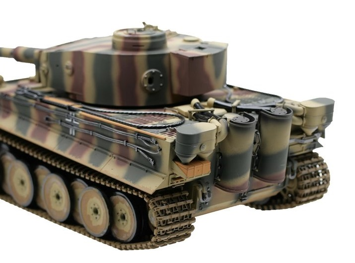 Tanc radiocomandat 1/16 RC Tiger 1 Early Production Tank BB Airsoft Torro RC