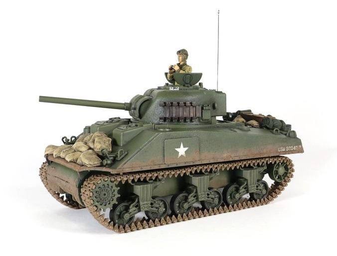 Tanc radiocomandat 1/24 M4A3 Sherman Torro IR Sistem lupta