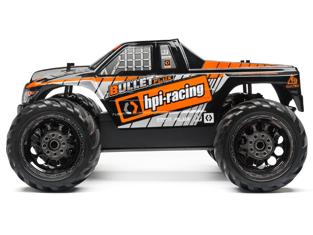 automodel hpi bullet flux mt rtr 2016 brushless monster. Black Bedroom Furniture Sets. Home Design Ideas