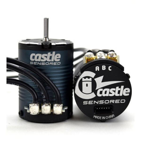 COMBO CASTLE MAMBA X SCT PRO/ SENSORED/ 25.2V WP CU MOTOR 1410-2850KV
