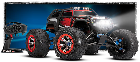 Automodel Traxxas Summit TQi RC Electric