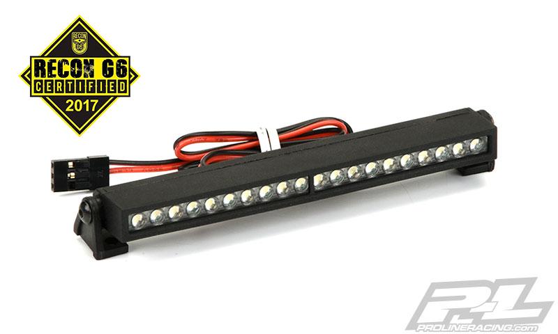 "Banda LED 4"" Super-Bright 6V-12V (Curbata) pentru Rock Crawlers/Rock Racers/Monster Trucks (1:8 & 1:10)"