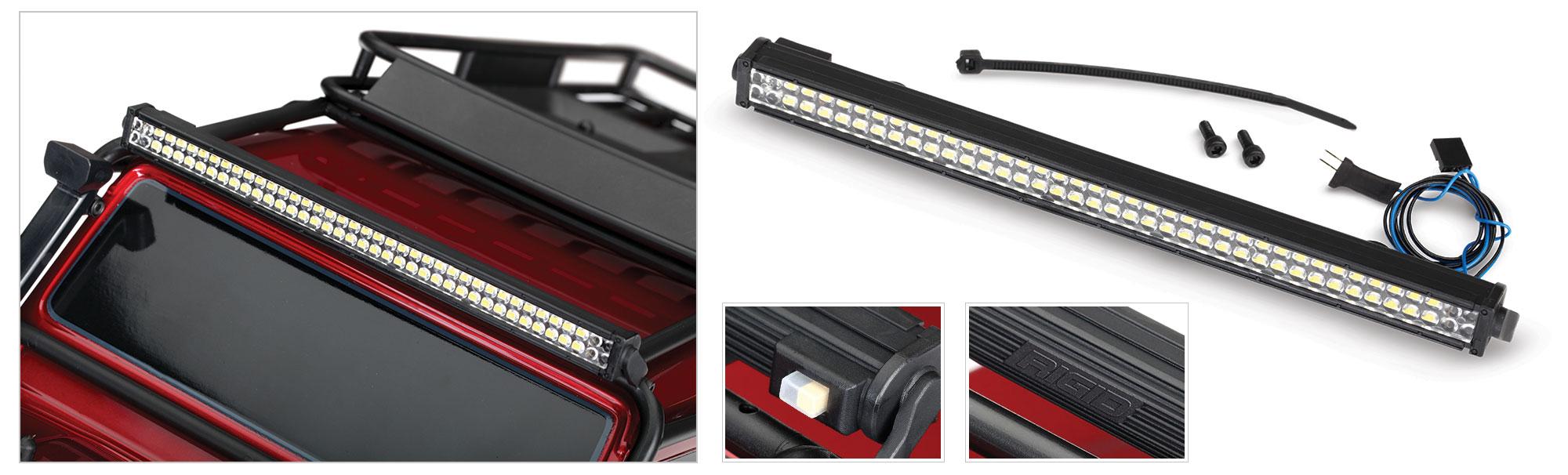 Bara LED Traxxas (Rigid®) pentru TRX-4 (necesita #8028 sursa de alimentare)