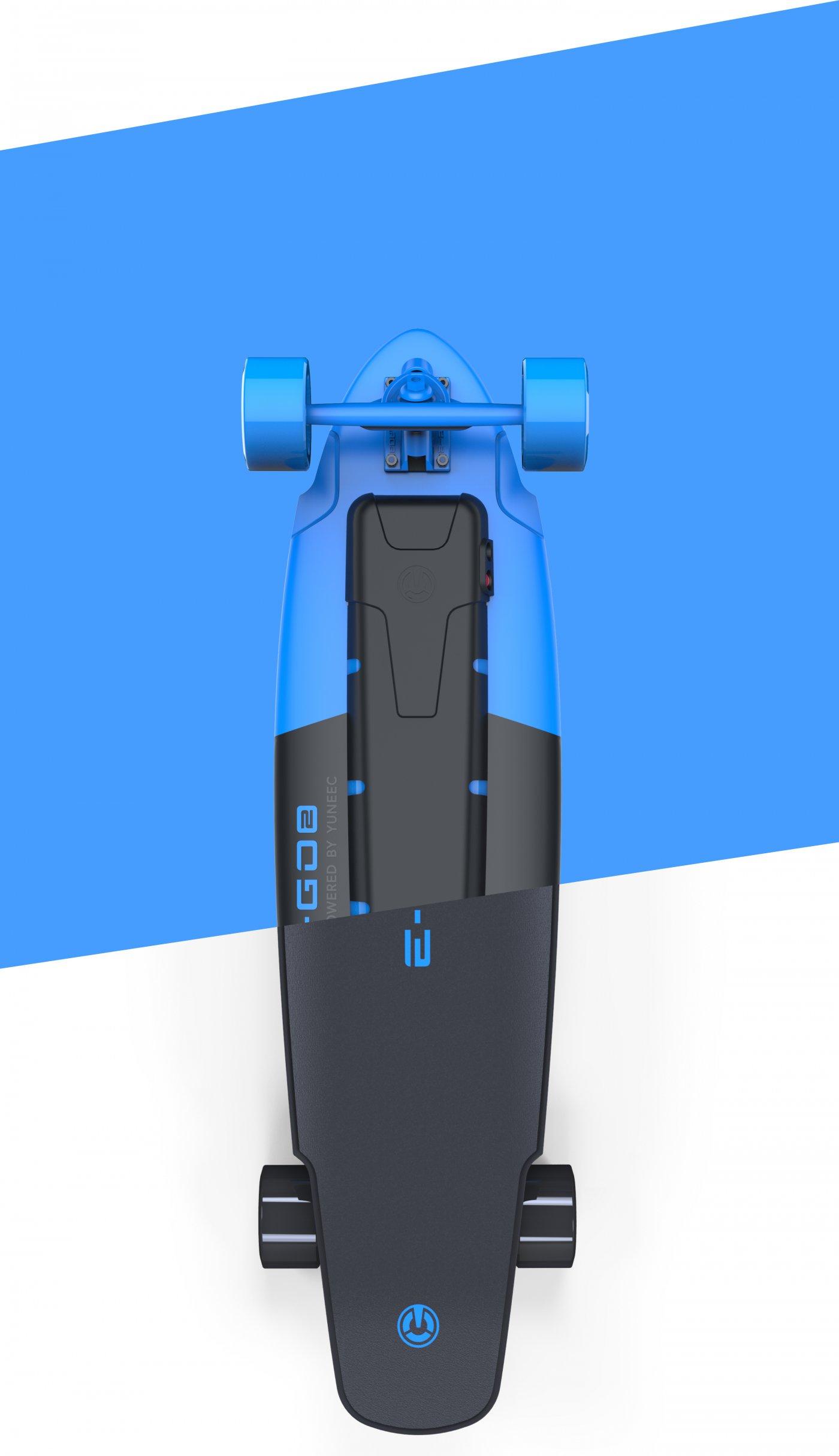 Longboard electric Yuneec E-GO 2