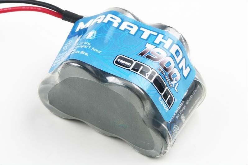 Marathon XL 1900 Receiver Pack Hump NiMH (6.0V) w/RTR/Bec Plug 20 AWG