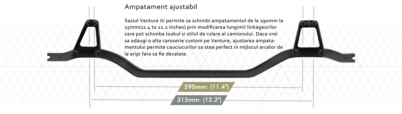 Automodel cu telecomanda electric HPI Venture Toyota FJ Cruiser Scale Truck RC RTR Romania