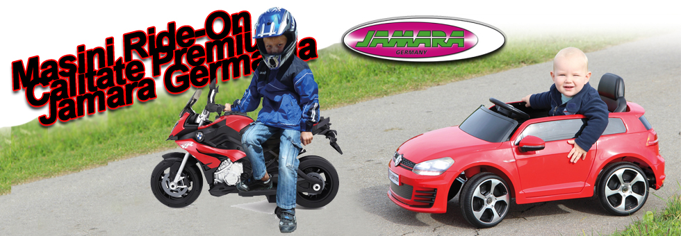 Masini electrice pentru copii Ride ON Jamara...</p><p id=