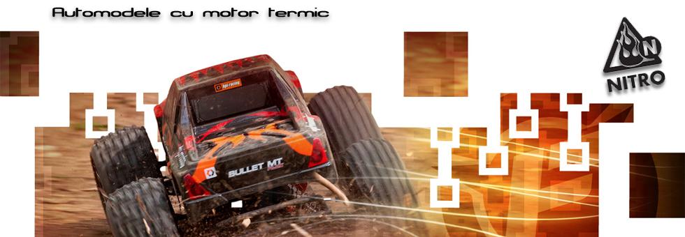 Automodele RC cu motor pe metanol