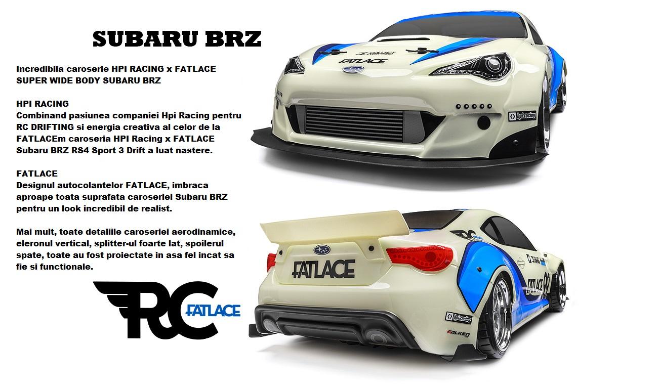 Automodel HPI RS4 Sport 3 Drift Subaru BRZ Toyota GT86