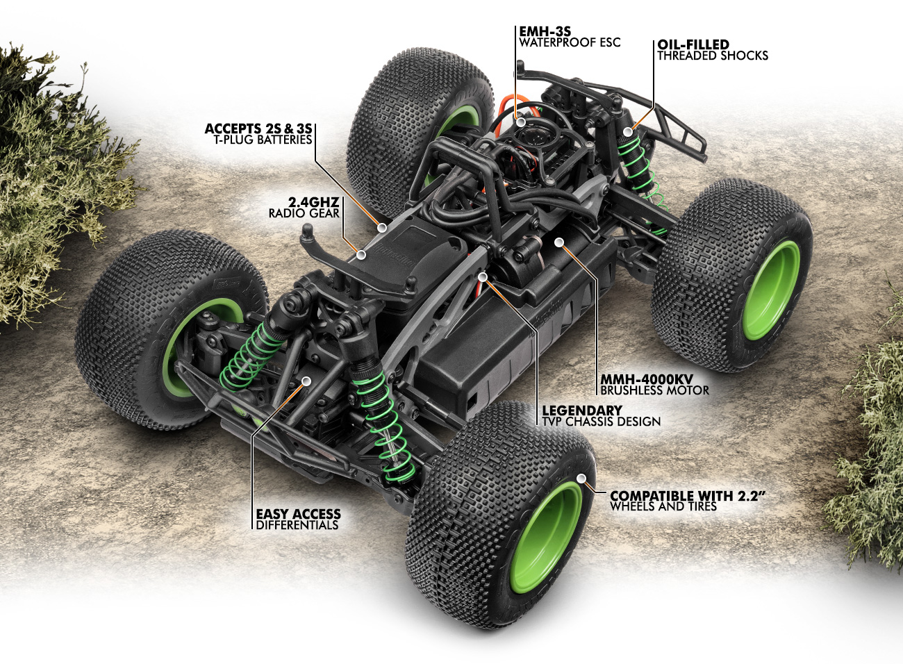 Automodel Hpi Savage XS Flux Vaugh Gittin Jr. Edition