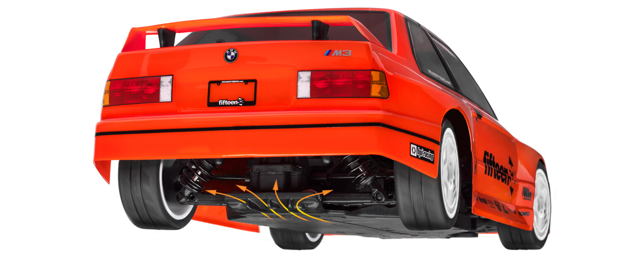Automodel RC Hpi Bmw M3 E30 RS4 Sport 3