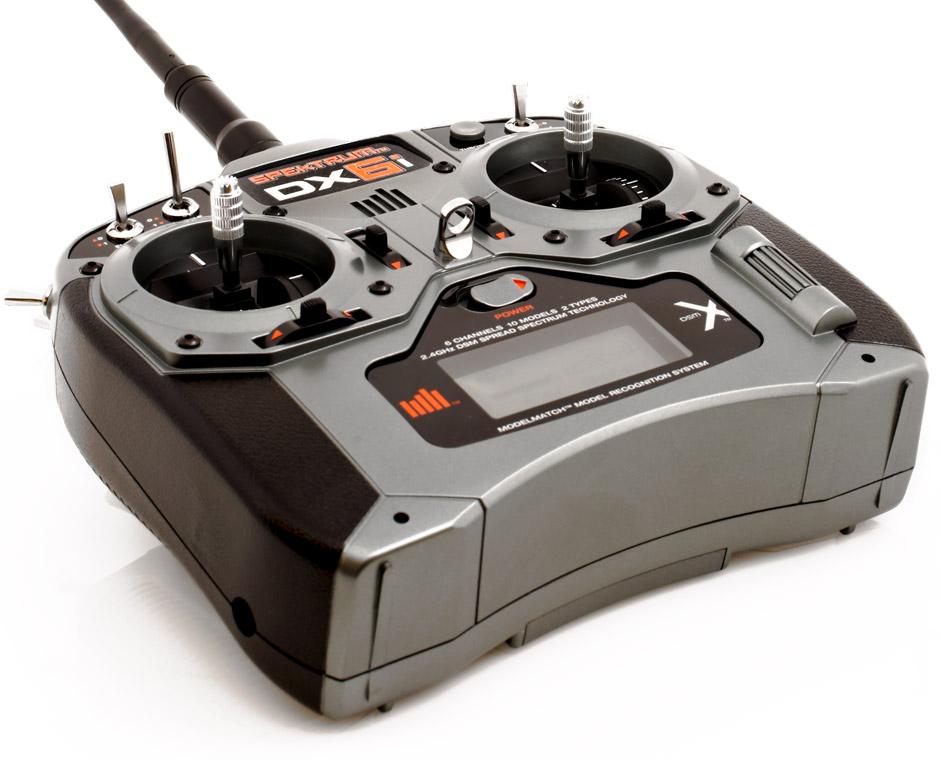 Spektrum DX6I Radiocomanda Telecomanda