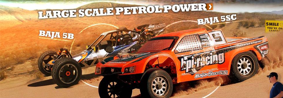 Automodele RC cu motoare pe benzina 2T