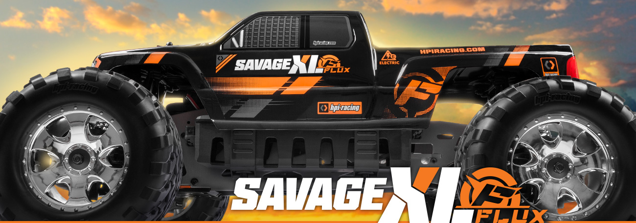 Automodel RC cu telecomanda HPI Racing Savage Flux XL