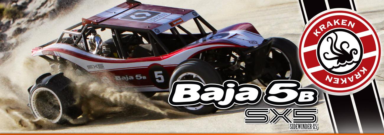 Automodel Hpi Baja SIDEWINDER X5