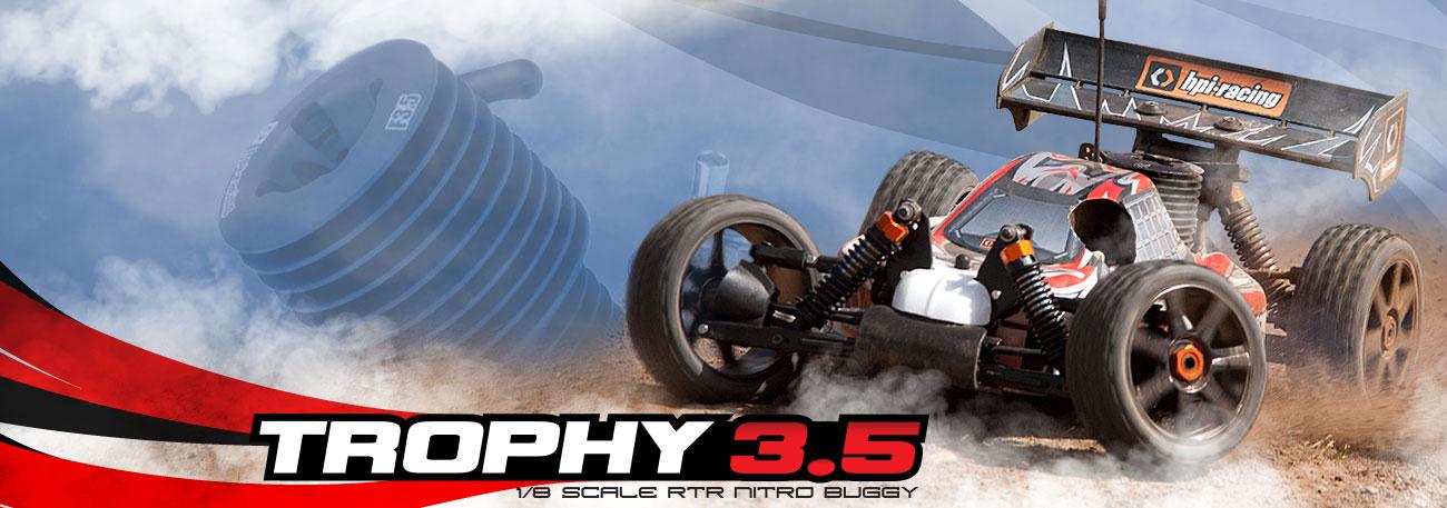 Automodel RC Hpi Trophy Buggy Nitro