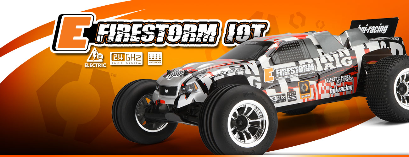 Automodel Hpi E Firestorm 10T Stadium Truck 2WD 1/10