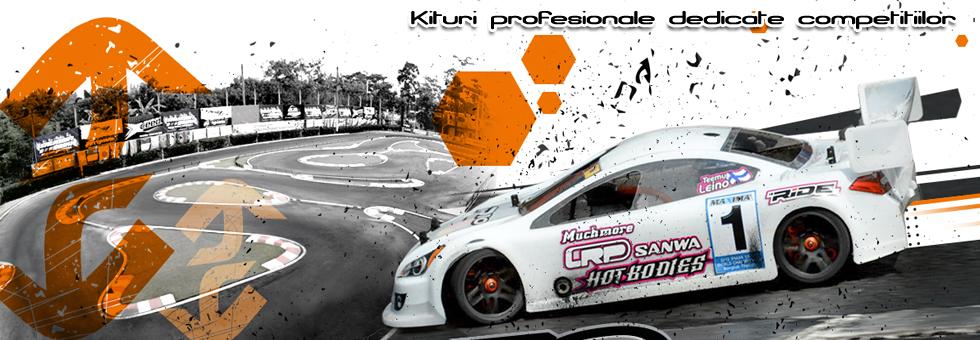 Kituri profesionale pentru automodelism sportiv