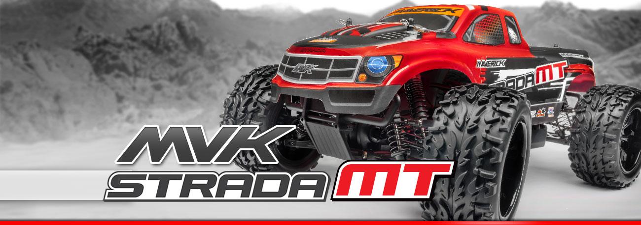 Maverick Strada MT 1/10 - Monster Truck cu Telecomanda