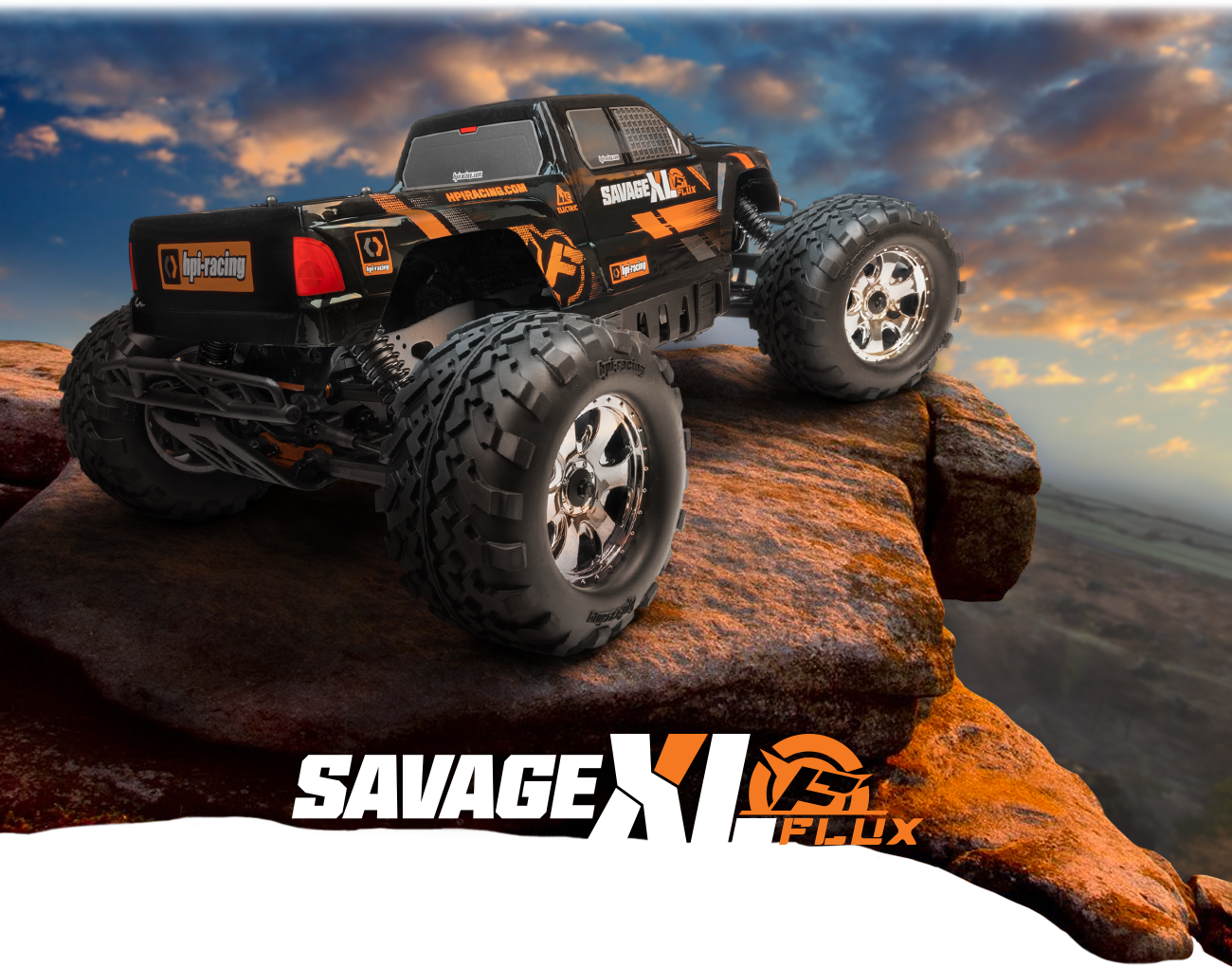 Automodel RC cu telecomanda HPI Racing Savage Flux XLs