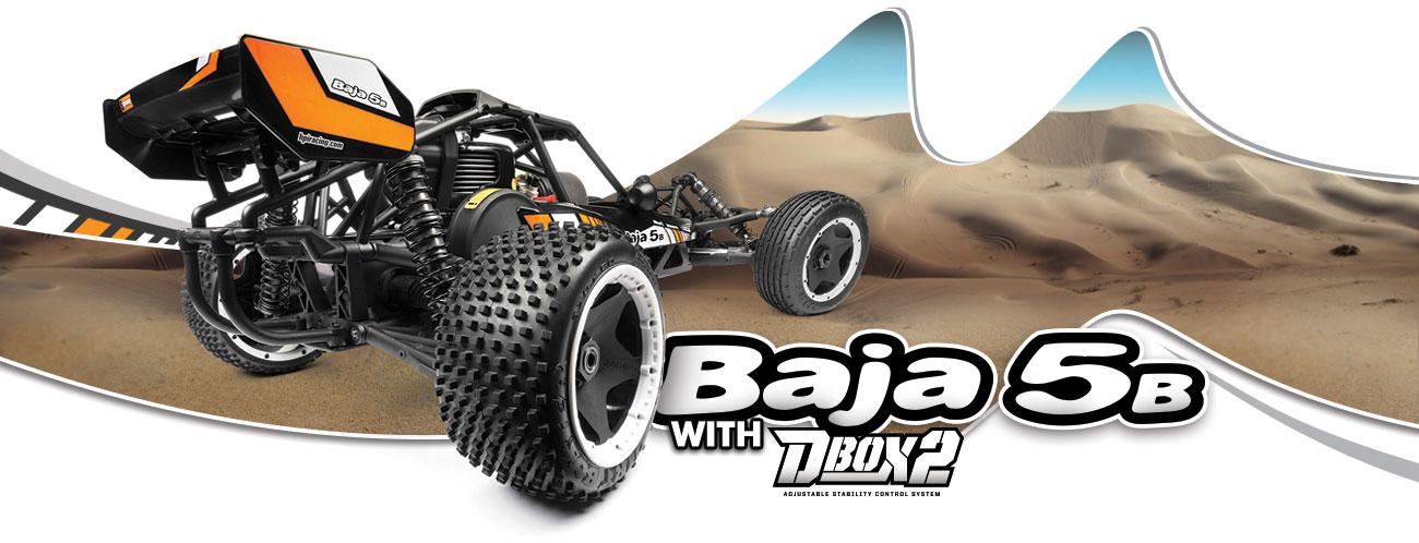 Automodel Rc pe benzina HPI BAJA 5B cu DBOX 2 inclus