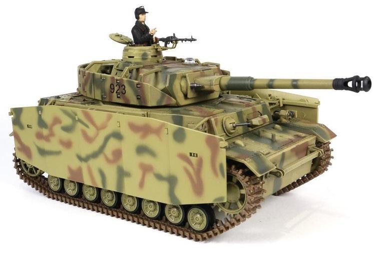 Tanc radiocomandat 1/24 PzKpfw IV Ausf. H Torro IR Sistem lupta