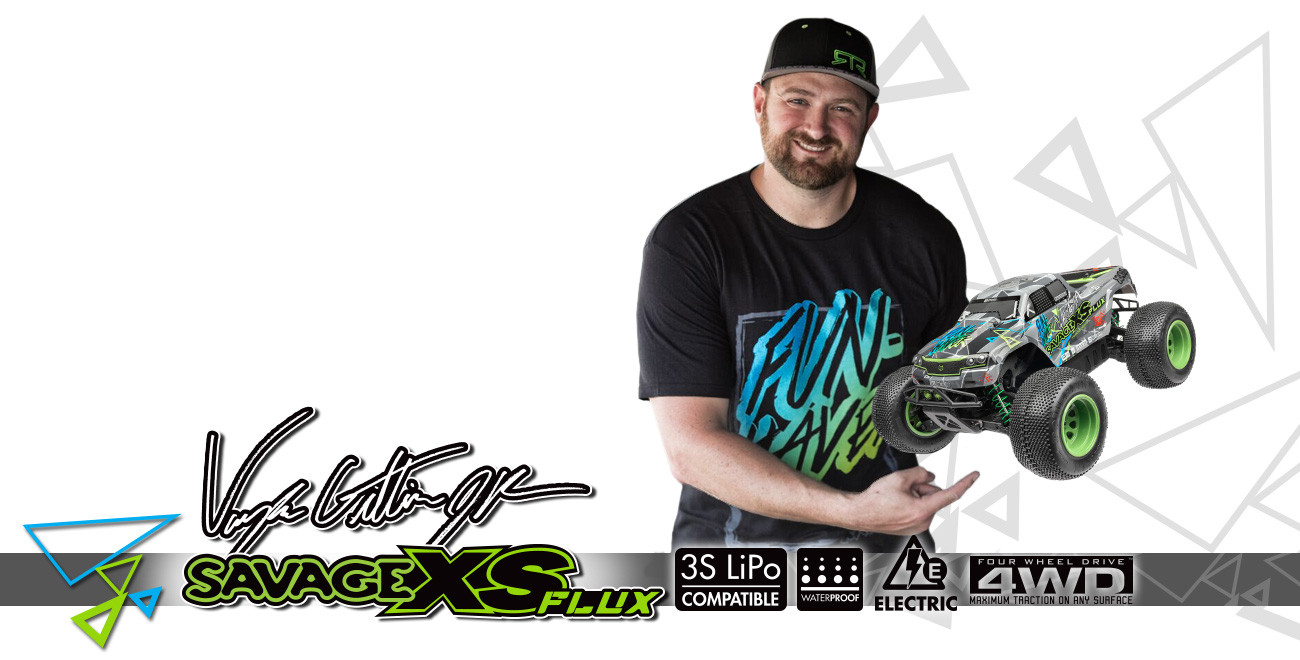 Automodel Hpi Savage XS Flux Vaugh Gittin Jr. EditionAutomodel Hpi Savage XS Flux Vaugh Gittin Jr. Edition