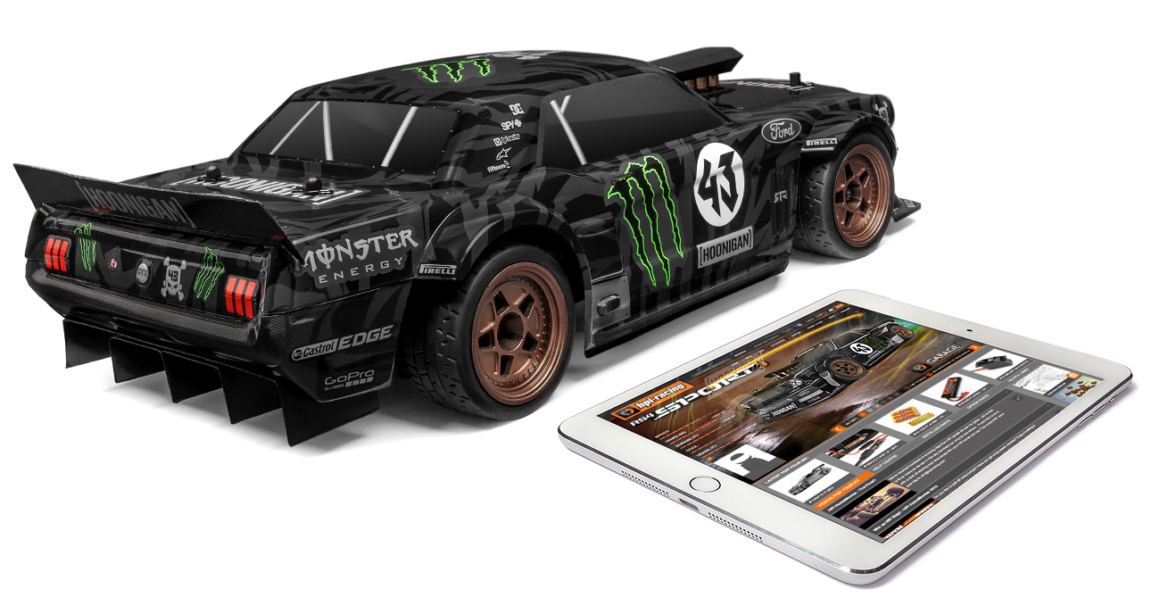 Automodel RC Ken Block Hoonicorn Monster Energy Ford Mustang RTR